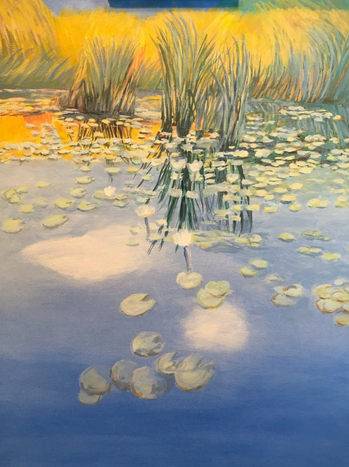 LILY PADS and REEDS