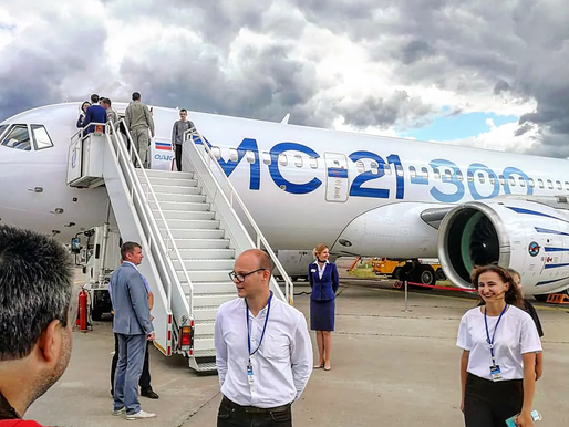 Наш визит на МАКС-2021 в Жуковском