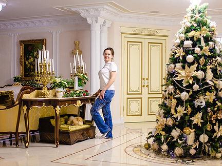 Новогодний декор домов