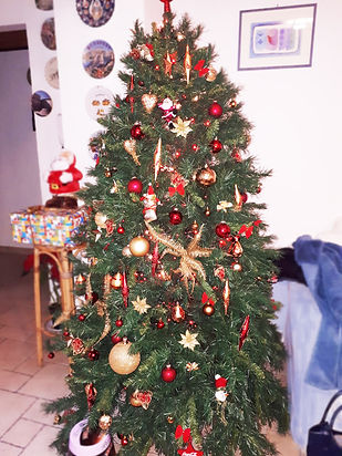 Новогодняя ёлка с декором напрокат
