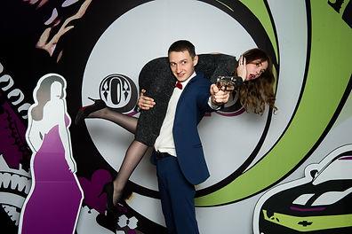Фотозона агент 007