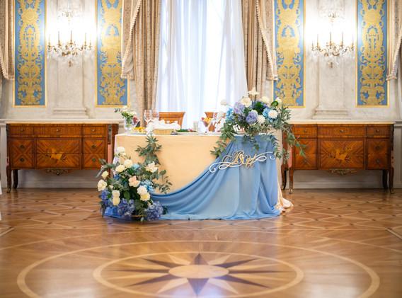 Украшение свадьбы Морозовка