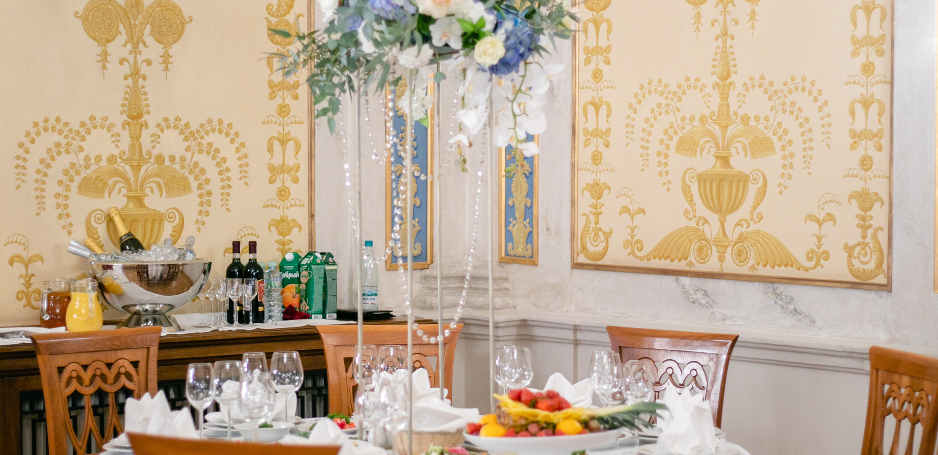 Декор свадьбы Морозовка