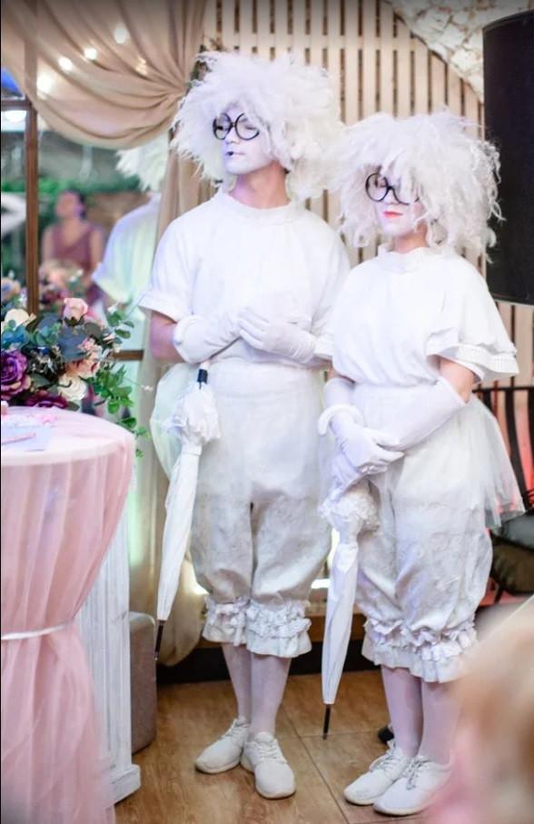Мимы на выездную церемонию