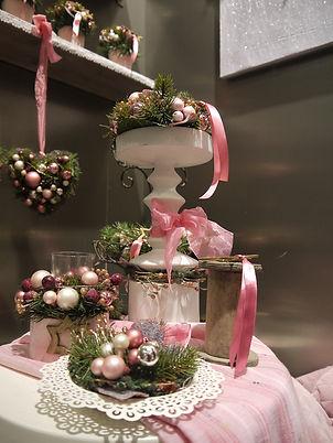Новогодний декор на стол