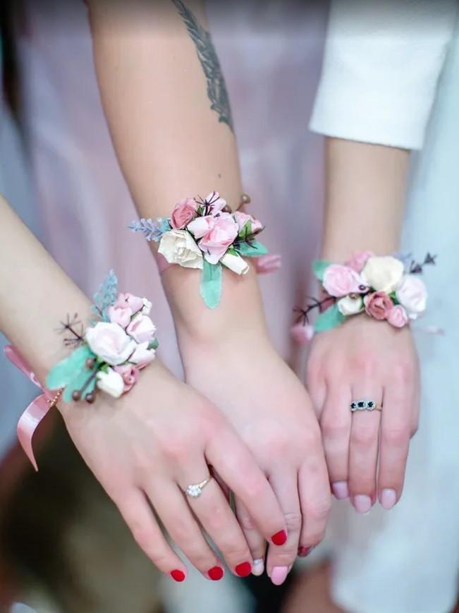 Браслеты подружек невесты