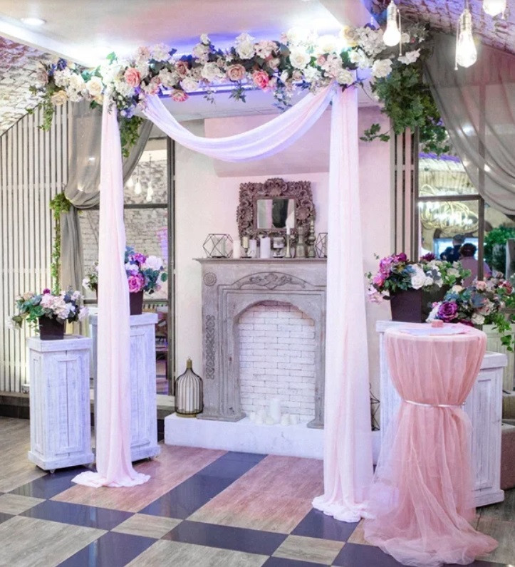 Декор выездной церемонии