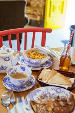 Ghand in-Nanna B&B Breakfast Room