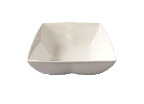 Taza Crema Cuadrada Material Porcelana Línea Square