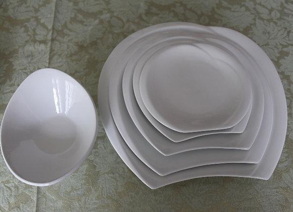 Colección Vajilla Fresh Fruit Material en Porcelana