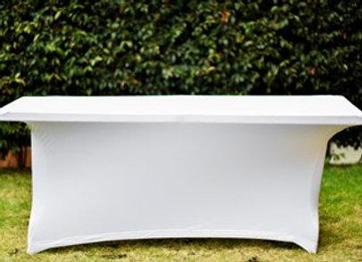 Mantel Rectangular Spandex Blanco