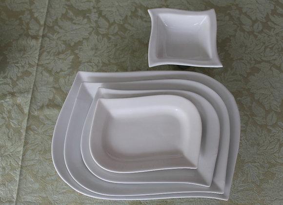 Colección Vajilla Vision Material en Porcelana