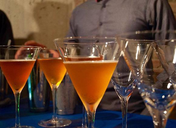 Copa Martini Syrah Material en Cristal en Montaje
