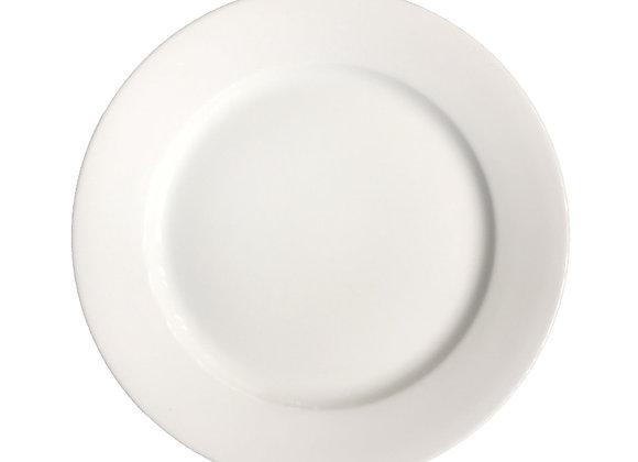 Plato Redondo Material en Porcelana Línea Hotelera
