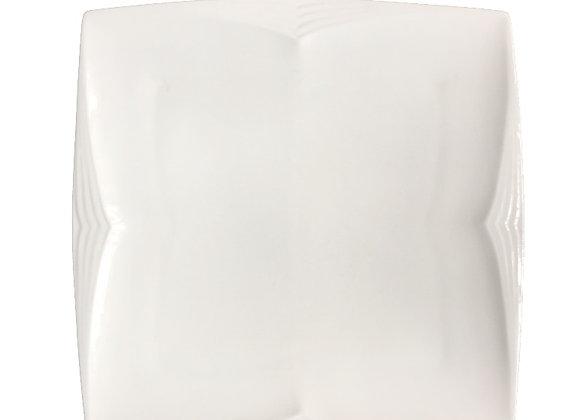 Plato de Diseño Cuadrado Material Porcelana Línea Square