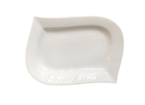 --- Plato de Diseño Material en Porcelana Línea Visión