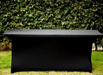 Mantel Rectangular Spandex Negro