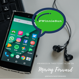 Moving Forward Guests from The #WinnieSun Tweet Chat
