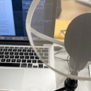 MF 296 : The equipment and work environment for recording an audiobook