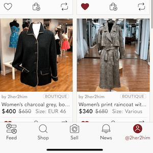 MF 309 : Updates on Poshmark: interface, stories and packing slips