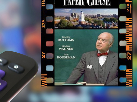 MF 344 : Summer movie series: The Paper Chase (1973)