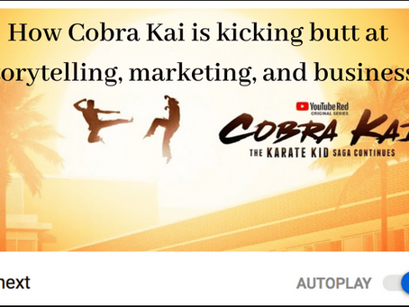How 'Cobra Kai' is kicking butt at storytelling, marketing, and business