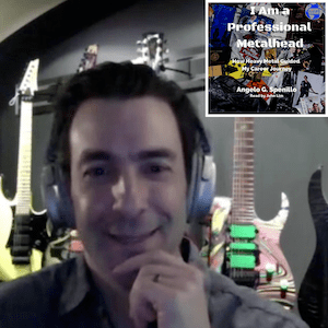 MF 291 : A conversation with Angelo Spenillo on audiobooks, and being a metalhead