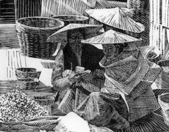 Burmese Market 1985
