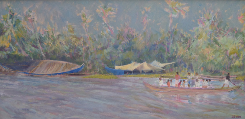 The Boatyard, Keral Backwaters