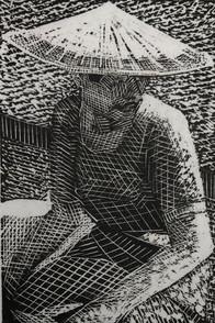 Burmes Girl in a Hat 1985