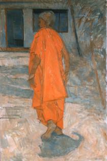 Walking Monk, Sri Lanka