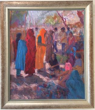 The Market, Bundi, Rajasthan 2004