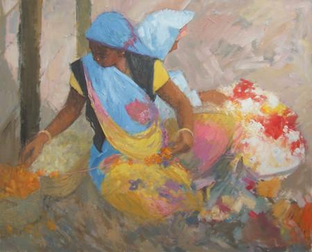 Flower Sellers, Udaipur