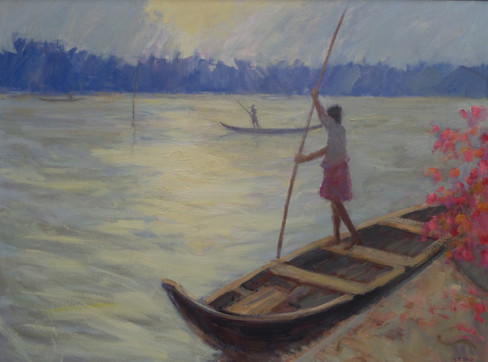 Dawn Fishermen, Kerala