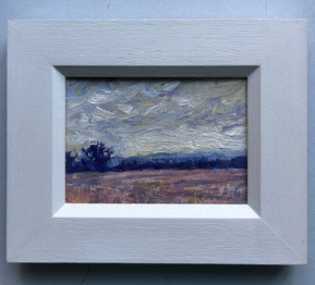 SOLD Evening Sky Over Stubble