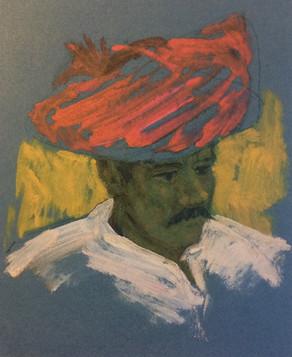 Head of a Rajasthani