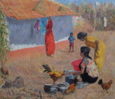 Morning Chores, Kanartaka