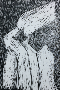 Old Man in a Turban, Rajasthan