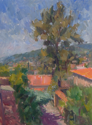 Roofs and Trees, St Paul de Vence