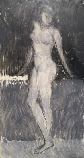 Leaning Figure