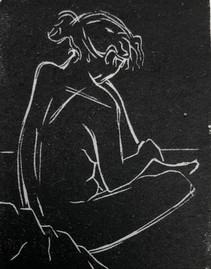 Back of Seated Figure