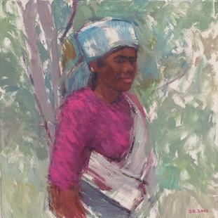 Tea Picker, Sri Lanka