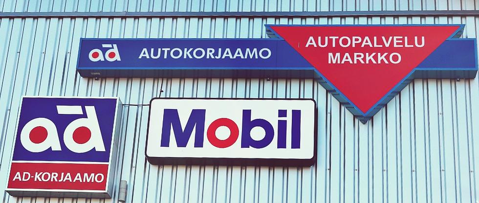 Ad Autopalvelu Markko julkisivu mobil