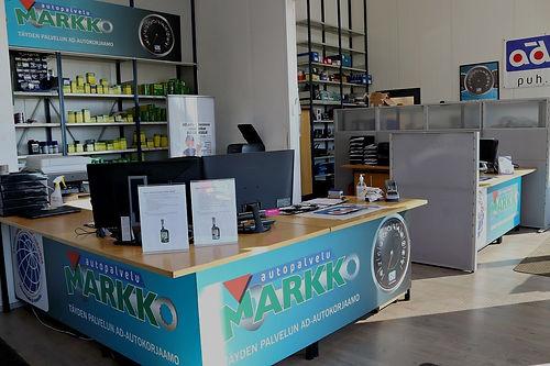 Ad Autopalvelu Markko toimisto
