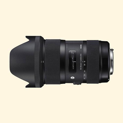Objektiv: SIGMA 18-35MM F/1,8 DC HSM A (CANON)