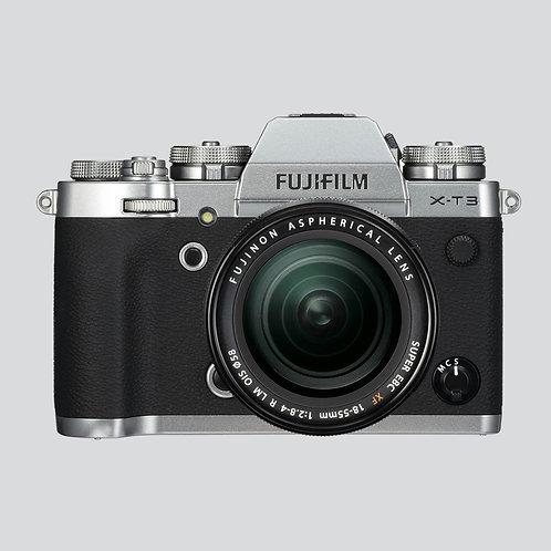 Fotoaparat: FUJIFILM X-T3 z objektivom 18-55 F2.8-4 OIS (kit)