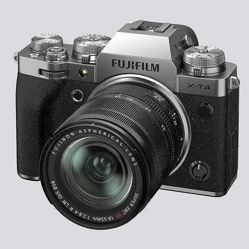 Fotoaparat: FUJIFILM X-T4 z objektivom 18-55 F2.8-4 OIS (kit)