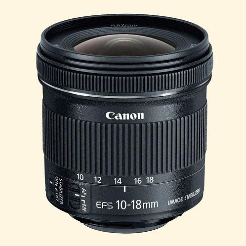 Objektiv: Canon EF-S 10-18mm f/4.5-5.6 IS STM