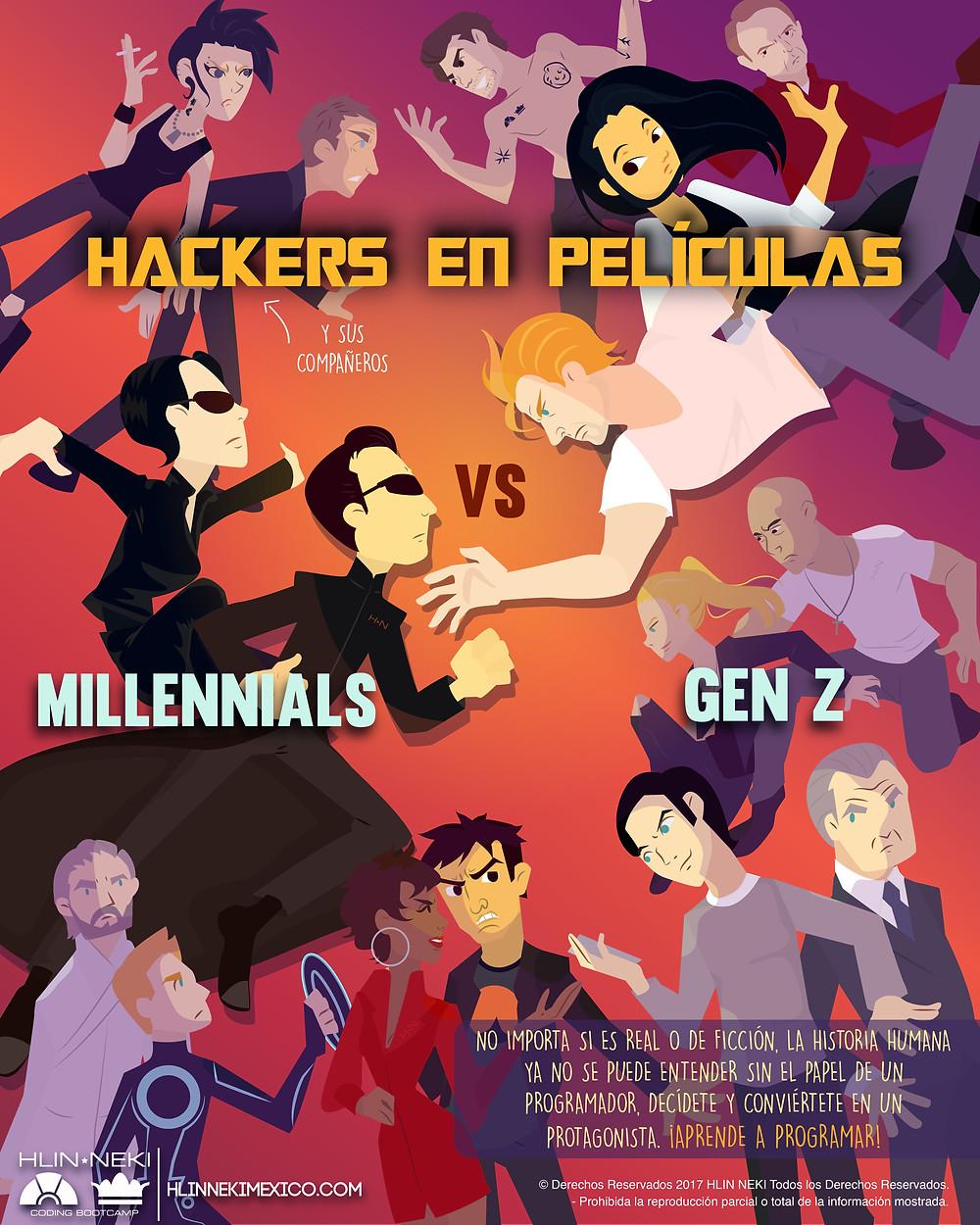 Hackers en películas