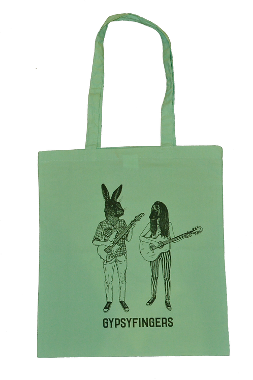 "Tote Bag - ""Hare & Hound"" - Green"